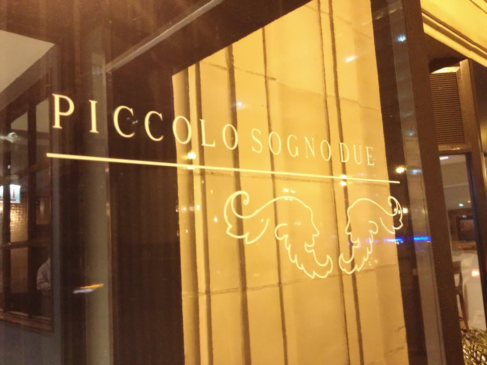 Chicago Restaurant Review Piccolo Sogno Due Fancy Italian