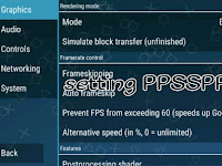 Cara setting emulator PSP Android