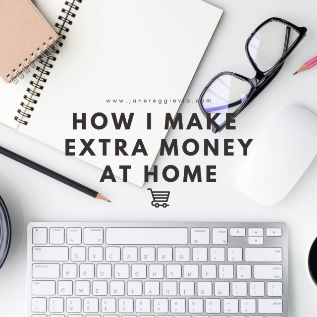How I Make Extra Money At Home