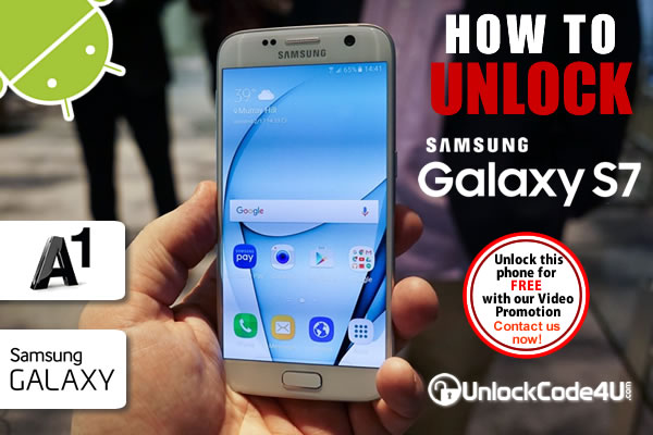 Factory Unlock Code Samsung Galaxy S7 from A1 Telekom