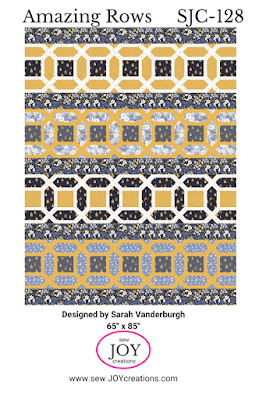 Amazing Rows quilt pattern Sew Joy Creations pattern