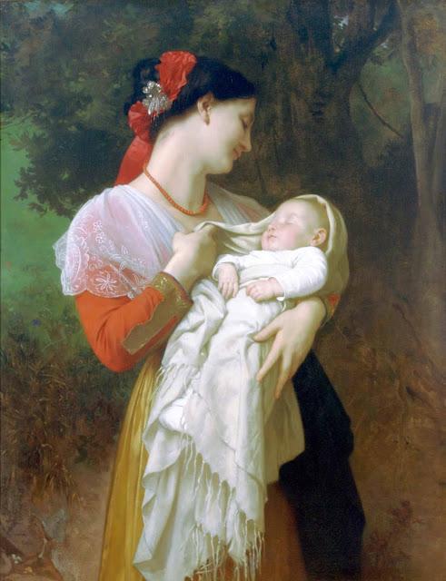 Адольф Вильям Бугро - Материнское Восхищение (1869)
