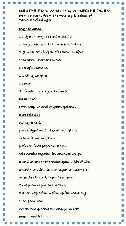 Recipe of success essay