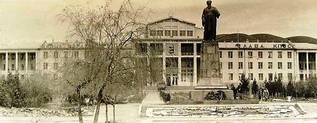Сельхозинститут. Фото города Душанбе 60-ых годов и фото тех же мест в 2015 году.