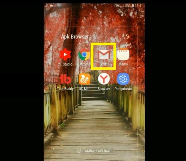 Cara Keluar Dari Gmail di HP Android