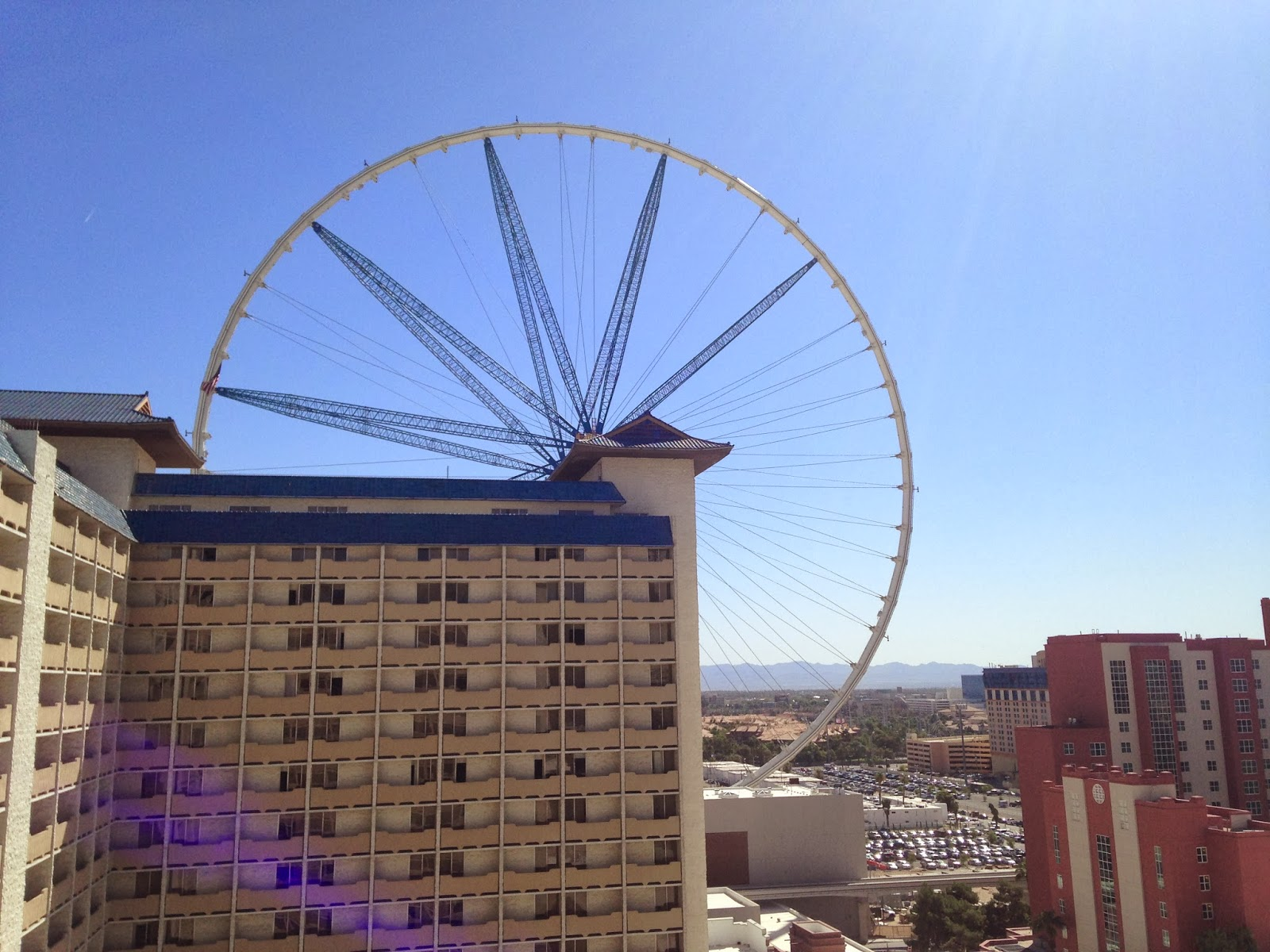 ferris wheel in vegas