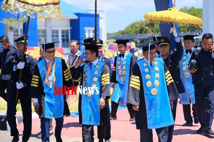 Wagub Sulsel, Minta Mahasiswa Dukung Program Pemerintah di Bidang Maritim