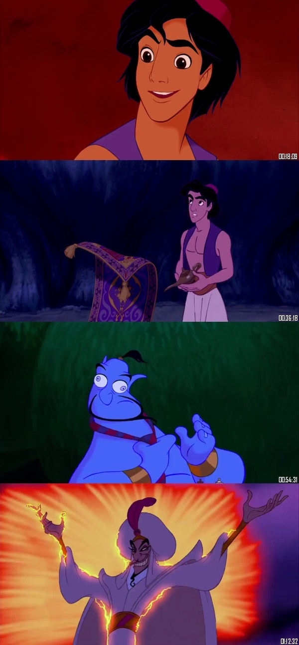 Aladdin 1992 Dual Audio Hindi 480p BluRay 280MB Desirehub