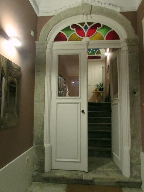 porta de um edifício restaurado