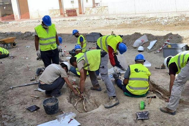 Ancient Islamic burial ground discovered during roadworks in Spain