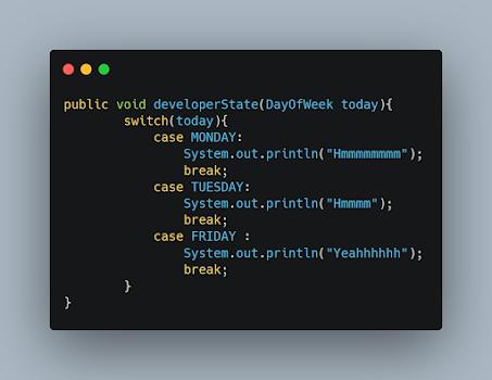 String to Enum in Java - Example