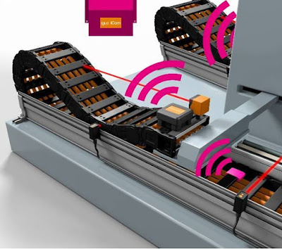 Igus smart plastics Monitor the operating state of all e-chains with just one module