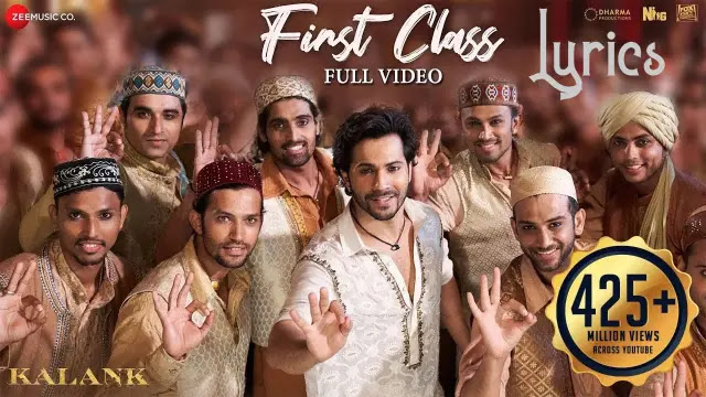 first-class-lyrics-kalank-in-english-arijit-singh-pdf download in punjabi in hindi