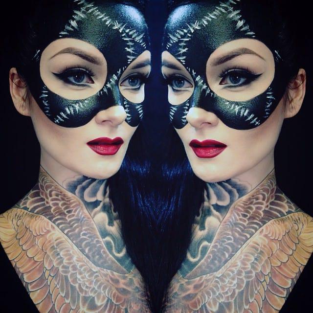 Get Inspired For Halloween With Makeup Artist Ida Ekman : Noda Luka