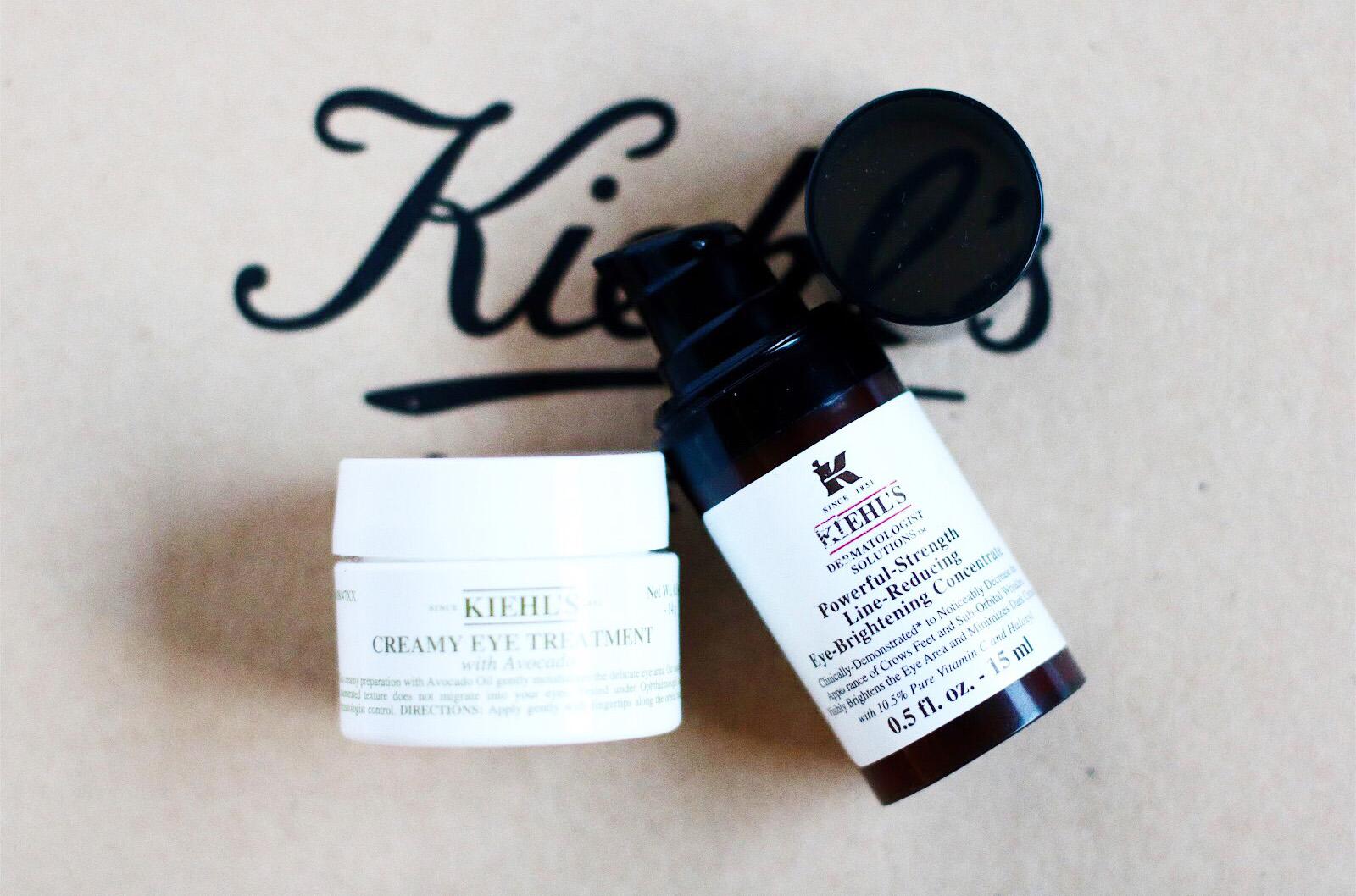 kiehl's crème yeux à l'huile d'avocat concentré reducteur rides à la vitamine C avis test