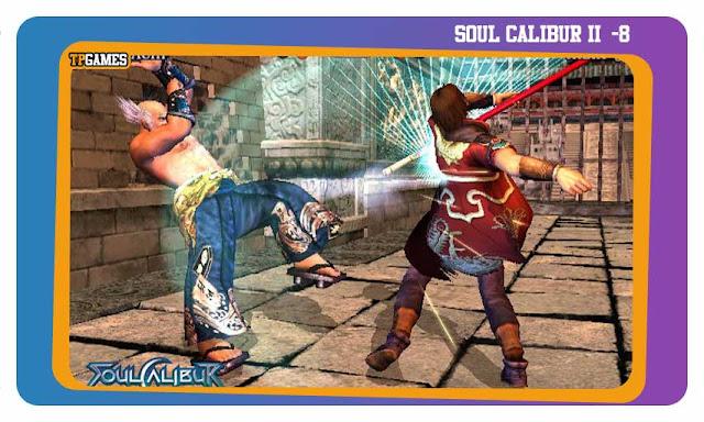 لعبة SOUL CALIBUR II