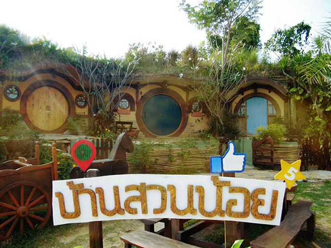 Hobbit House (Baan Suan Noi Resort) Khao Yai, Thailand
