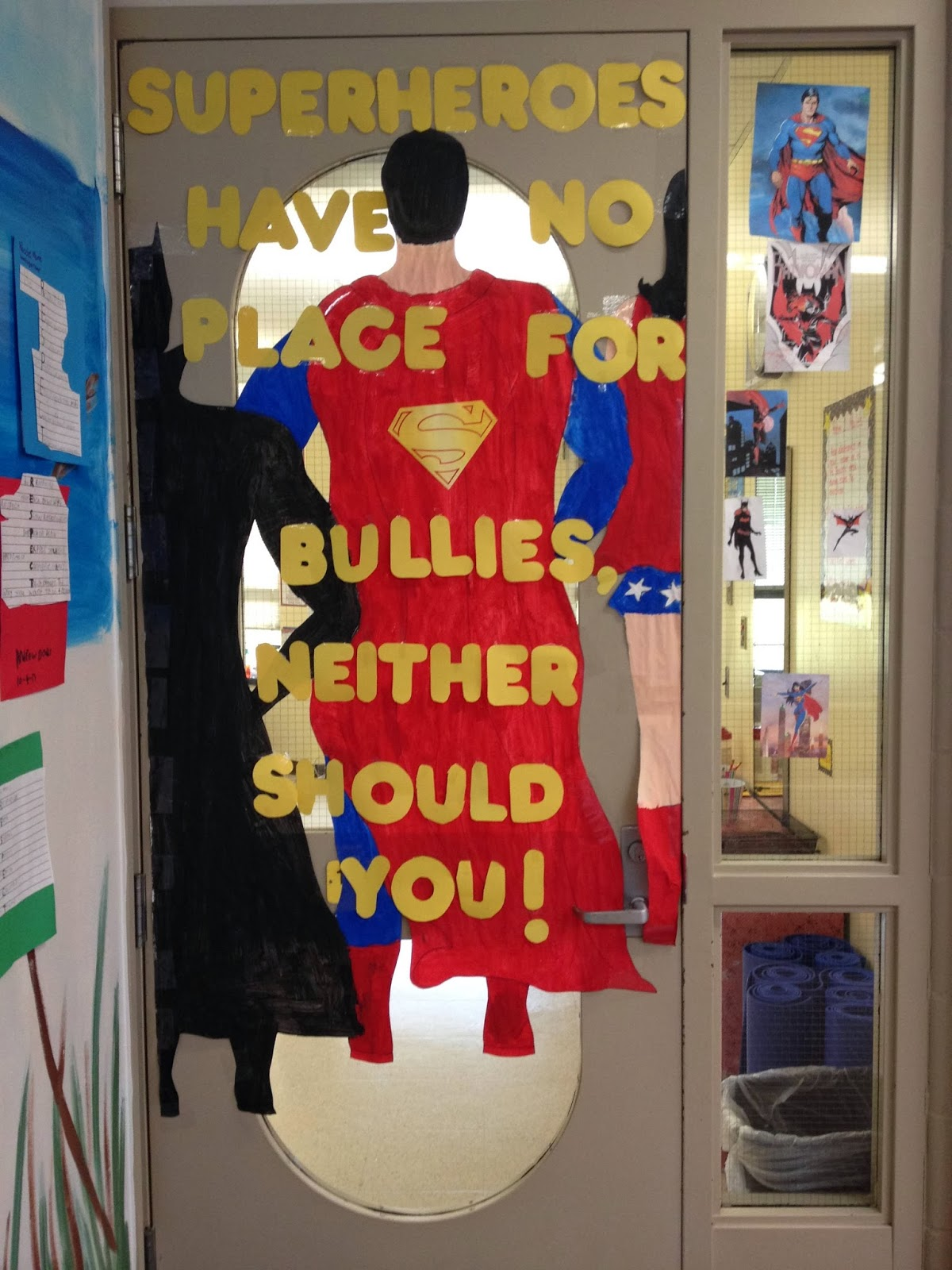 Ms. Gould's TCP Blog: Bullying Door Contest