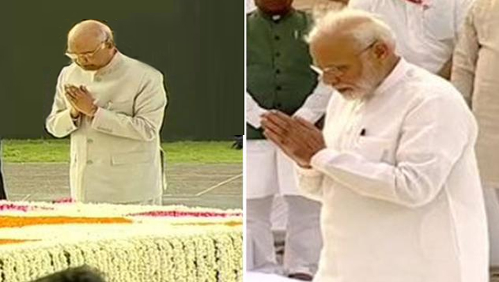 राष्ट्रपति कोविंद, मोदी, शाह ने दिवंगत वाजपेयी की पुण्यतिथि पर दी श्रद्धांजलि