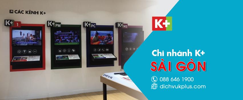 Đại lý K+ tại TPHCM - Đơn vị lắp đặt truyền hình K+ miễn phí