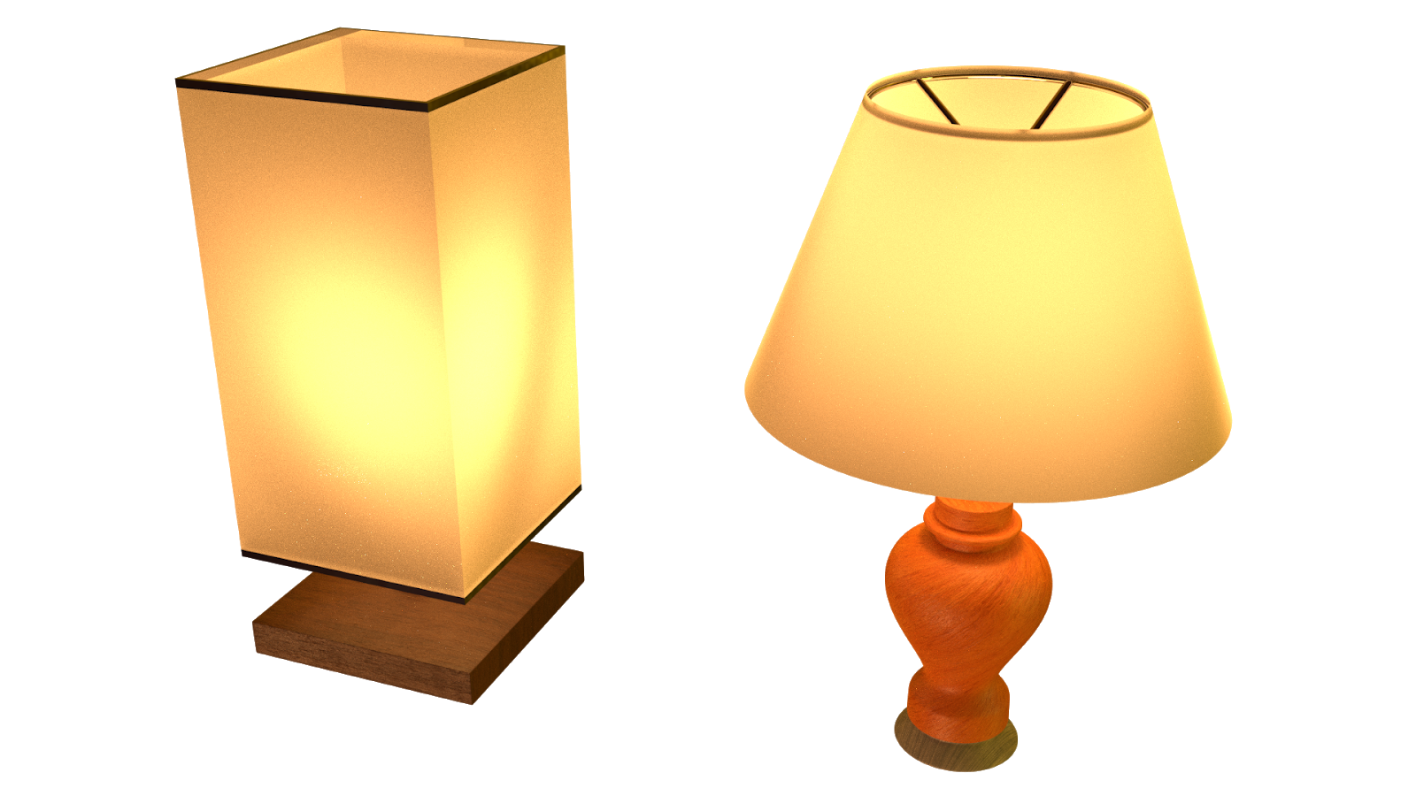 Free 3D Table Lamp CC0 3DS - Free 3D Models Under Public Domain