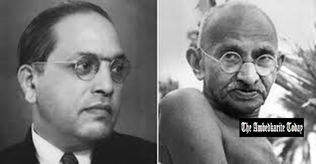 Why Ambedkar said he doesn't think Gandhi is a Mahatma ?