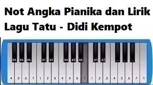Not Angka Pianika Dan Lirik Lagu Tatu Didi Kempot Calonpintar Com