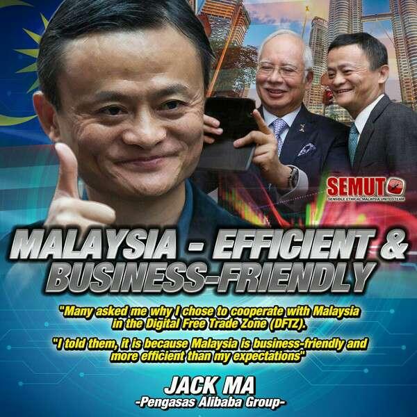 Mengapa Jack Ma, Alibaba Pilih Malaysia? Sebab Najib Nak Jual Malaysia?