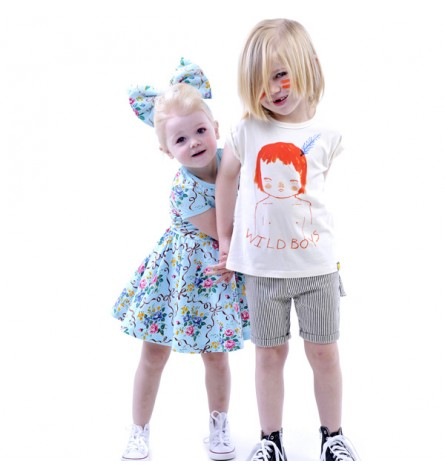 Rock Your Baby tee and dress
