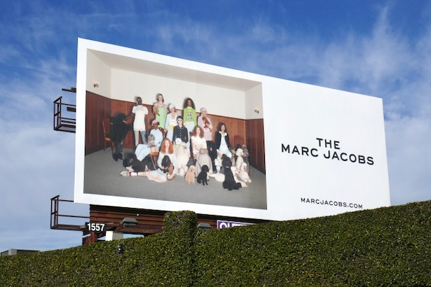 Marc Jacobs Resort 2020 billboard