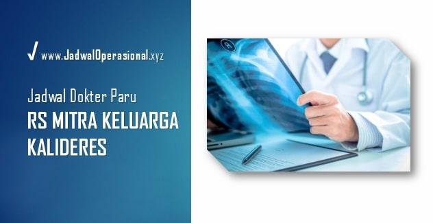 Jadwal Dokter Paru RS Mitra Keluarga Kalideres