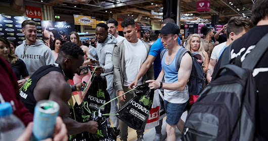 WORK: FOOTASYLUM X BODYPOWER FITNESS EXPO SPONSORSHIP