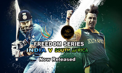 HD Studioz Paytm Freedom Series 2015 - India vs South Africa Patch