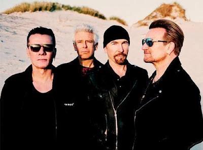 Larry Mullen Jr., Adam Clayton, The Edge, Bono, U2 The Joshua Tree Tour 2017
