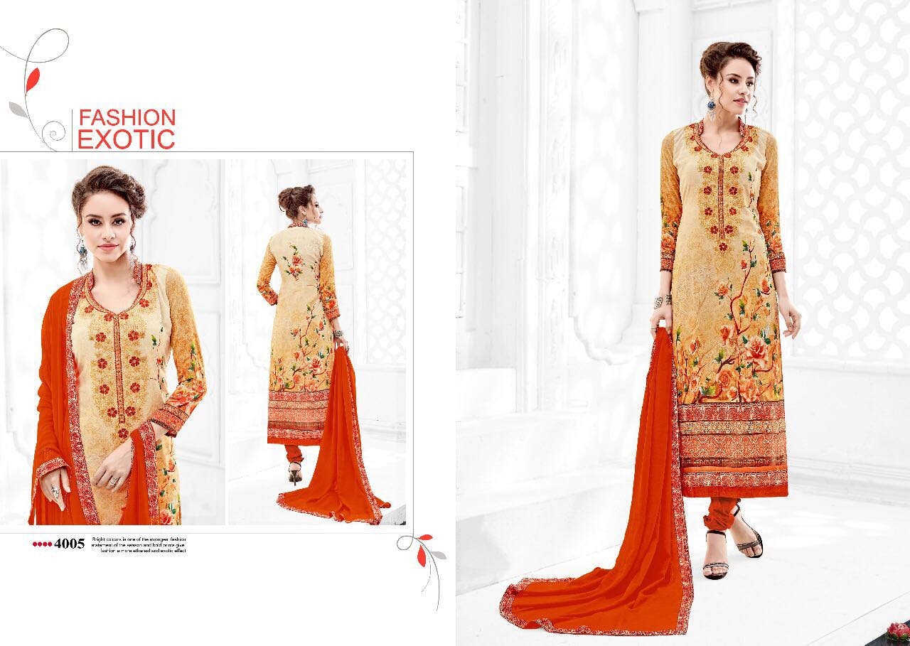 LEHJA-New Arrival Georgette Digital print Dress Material