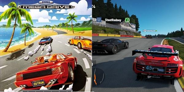 Classic vs New Driving Games