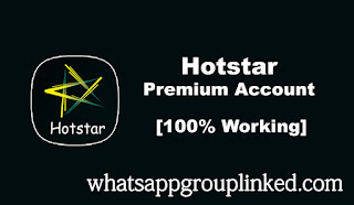 hotstar vip subscription account and password free