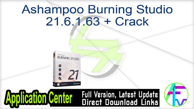 Ashampoo Burning Studio 21.6.1.63 + Crack