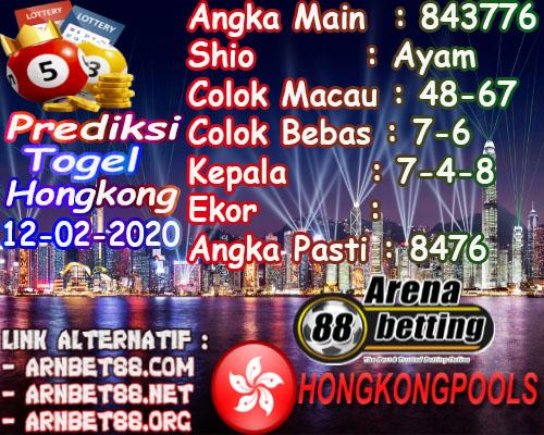 Prediksi Togel Hongkong 12 Februari 2020 - Prediksi Arenabet