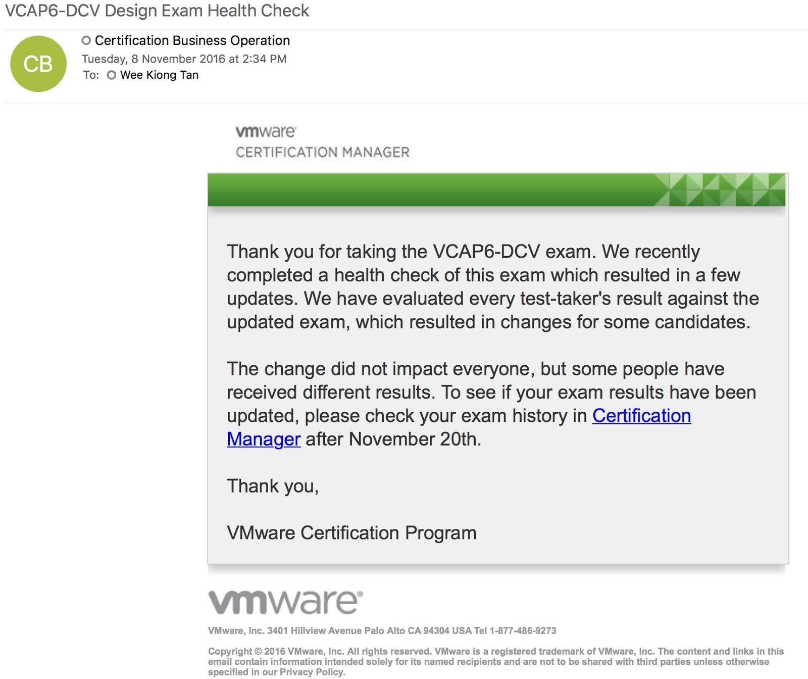 Plain Virtualization Vmware Vcap6 Dcv Design Beta Rescore