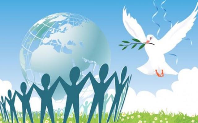 المحبة و السلام قيم إنسانية