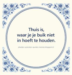 nederlandse spreuken op mooie plaatjes