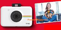 Logo ''Scatta la vacanza'' e con Arnaboldi vinci una vacanza da 10.000€ e 49 Polaroid Snap