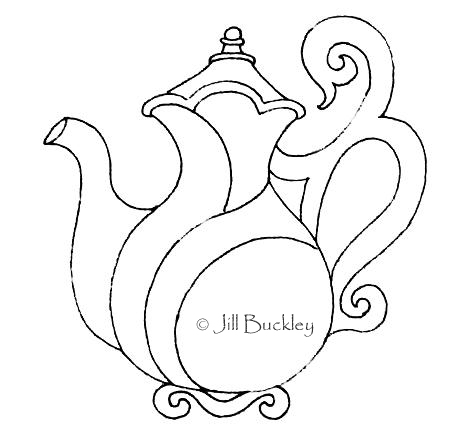 Teapot Pattern For Quilt
