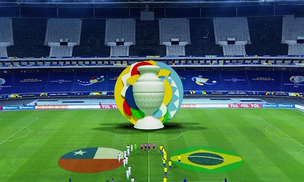 Watch Match Brazil vs Chile Copa America 2021 Live Streaming