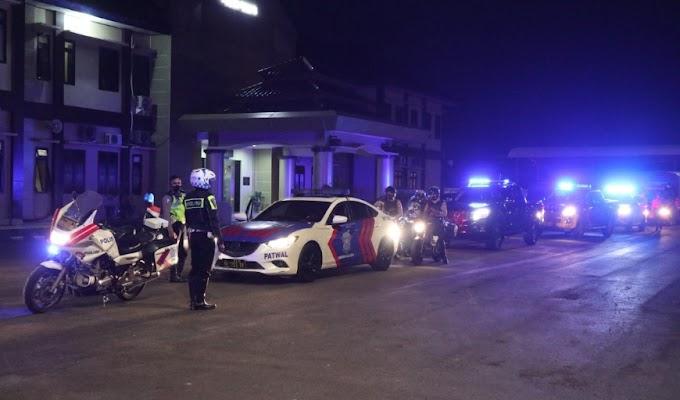 Polres Serang Laksanakan Patroli Gabungan Skala Besar