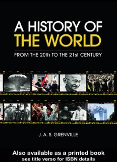 A History of the World: From the 20th to the 21st Century By J.A.S. Grenville PDF Books