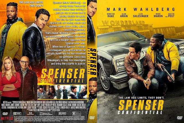 Spenser Confidential DVD Cover