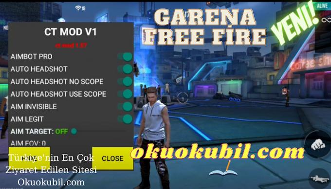 Garena Free Fire 1.57.3 CT MOD V1 Mermi Hızı, Geri Tepme Yok APK hileli indir 2021