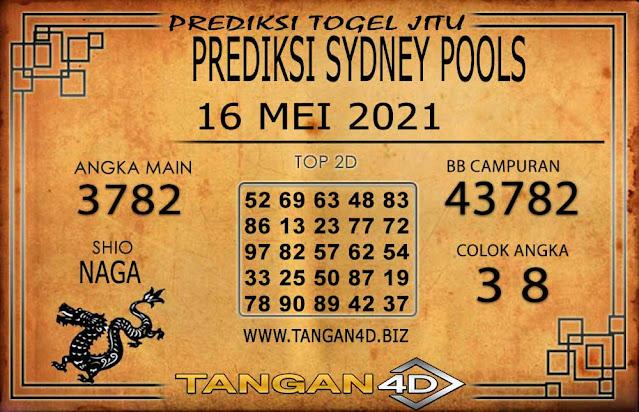 PREDIKSI TOGEL SYDNEY TANGAN4D 16 MEI 2021